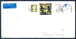 J462- Postal Used Cover. Posted From Great Britain England. UK To Pakistan. - Other