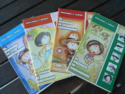 Conozcamos A Sandino - Lot 4 Livres En Espagnol Pour Les Enfants - - Boeken Voor Jongeren