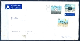 J491- Postal Used Cover. Posted From Helvetia Switzerland To Pakistan. - Switzerland
