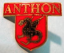 PIN'S ANTHON - Villes