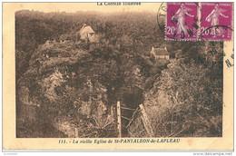 19 SAINT PANTALEON  De LAPLEAU  , La Vielle église - France