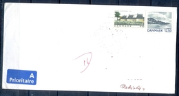 J509- Postal Used Cover. Posted From Danmark Denmark To Pakistan. Plants. Trees. Mountains. - Denmark