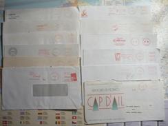 12 EMA 1971-2002 - Marcofilia (sobres)