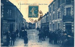 CPA N°107 - SAINT PERE EN RETZ - LA PLACE DE L' EGLISE - Frankreich