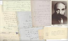 ARCHIVE J.H ROSNY AINE AUTOGRAPHE ORIGINAL AUTOGRAPH ADRESSE A ALBERT WILLEMET /FREE SHIPPING REGISTERED - Autographes