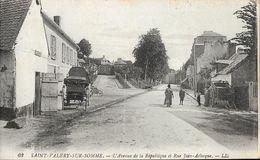 St Saint-Valéry-sur-Somme - L'Avenue De La République Et Rue Jean Aclocque - Carte LL N° 62 Non Circulée - Saint Valery Sur Somme
