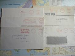 5 EMA Amiens 1968-75 - Marcofilia (sobres)