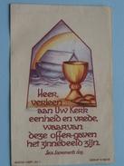 Plechtige H. Communie Vital DE REZE - 15 Mei 1947 St. Jan Berchmans Te Diest ( Druk. Uten Diest / Zie Foto's ) ! - Communion