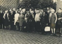 ZOMERGEM :  Teerfeest Gepensioneerden 24/5/1970    ( Vieux Photo    15   X  10  Cm ) - Lugares