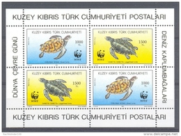 Mis997s WWF FAUNA REPTIELEN SCHILDPAD REPTILES TURTLE SCHILDKRÖTEN TURKISH CYPRUS 1992 PF/MNH - W.W.F.