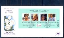J534- Tristan Da Cunha 1997. Diana Princess Of Wales. - Tristan Da Cunha
