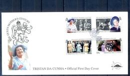 J535- Tristan Da Cunha 1999. Queen Mother Elisabeth Century. Soldiers. - Tristan Da Cunha