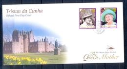 J537- Tristan Da Cunha 2002. Queen Mother. Castle. - Tristan Da Cunha