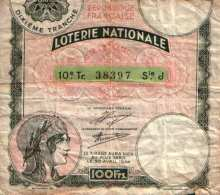 Loterie Nationale Loterie Nationale  TTB - France