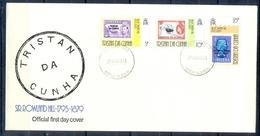 J543- Tristan Da Cunha 1979. Complete Set Of 3 Sir Rowland Hill Stamp On Stamp. Bird. Ship - Tristan Da Cunha