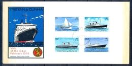 J544- Tristan Da Cunha 1979. Visit Of Cruise Ship Queen Elisabeth II. - Tristan Da Cunha