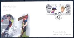 J546- Tristan Da Cunha 2003.21st Birthday Prince William Of Wales. - Tristan Da Cunha