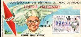 Loterie Nationale Pour Nos Vieux  NEUF - France