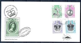 J549- Tristan Da Cunha 1993. Coronation Of Queen Elizabeth II, 40th Anniversary. - Tristan Da Cunha