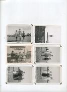 Antwerpen :  St Anna Strand   (  6 Vieux Photos  8.5  X  6  Cm ) - Lieux