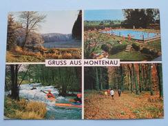 Gruss Aus MONTENAU ( Lander ) Anno 1977 ( Zie/voir Foto Voor Details ) !! - Amblève - Amel