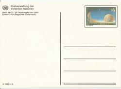1992 Unused Pre Paid Postcard - Centre International De Vienne