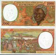 Congo 2000 FRANCS Pick 103Cg NEUF - Zonder Classificatie