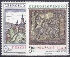 ** Tchécoslovaquie 1976 Mi 2343-4 (Yv 2179-80), (MNH) - Czechoslovakia