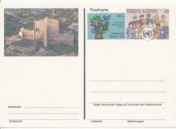 1993 Unused Pre Paid Postcard - Centre International De Vienne