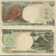 Indonésie 500 RUPIAH Pick 128g  (1998) NEUF - Indonésie