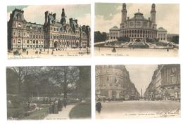 Cp ,75 , PARIS , 2 Scans , LOT DE 8 CARTES POSTALES , CPA - Postcards