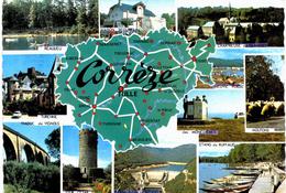 Corrèze - Beaulieu - Maison Ségurel - Chartreuse Du Glandier - Turenne - Neuvic - Viaduc De Vignols ... - Autres Communes