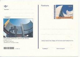 1998 Unused Pre Paid Postcard - Centre International De Vienne