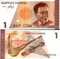 Kirghizistan 1 SOM Pick 7 NEUF - Kirgisistan