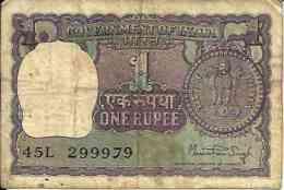 Inde - India 1 RUPEE Pick 77t TB - India
