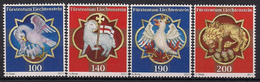 2015 Liechtenstein Mi. 1751-4  **MNH . Kathedrale St. Florin, Vaduz. - Liechtenstein