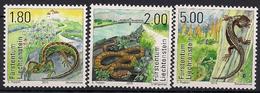 2015 Liechtenstein Mi. 1758-60  **MNH . Reptilien - Liechtenstein