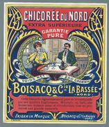 Ancienne Etiquette Chicorée  Extra  Supérieure Du Nord  Boisacq & Cie La Bassée   Nord 59 - Fruits & Vegetables