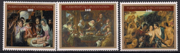 2015 Liechtenstein Mi. 1782-4  **MNH  Gemälde Von Jacob Jordaens - Liechtenstein