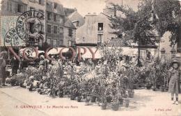 50 - Granville - Le Marché Aux Fleurs - Granville