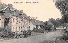62 - Environs D'Hesdin - Fressin - La Grande Rue - Hesdin