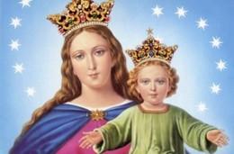 Santino MARIA AUSILIATRICE (con Preghiera Composta Da San Giovanni Bosco) - N28 PERFETTO - Religione & Esoterismo
