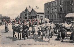62 - Berck Plage - Le Marché Aux Anes - âne - Berck