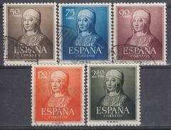 ESPAÑA 1951 Nº 1092/96 SERIE COMPLETA USADA - 1951-60 Usados