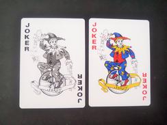Vintage ! 2 Pcs. Super Coffeemix Playing Card Joker Cycling Clown (#14) - Playing Cards (classic)