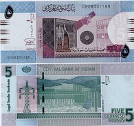 SUDAN       5 Sudanese Pounds      P-72[c]       3.2015       UNC - Sudan