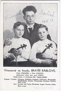 Czeck Republic 1939 Venonsek Karlicek, Bratri Rablove, Violinist Violin Music Musique Musik - Música Y Músicos