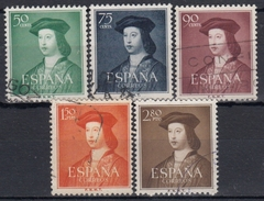 ESPAÑA 1952 Nº 1106/10 SERIE COMPLETA USADA - 1931-Hoy: 2ª República - ... Juan Carlos I