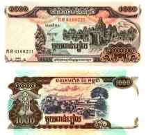 Cambodge 1000 RIELS Pick 51 NEUF - Cambodia