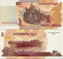 Cambodge 50 RIELS Pick 52 NEUF - Cambodia